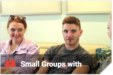 Video: Small Groups with Emerging Adults College Students in a Summer Internship Training